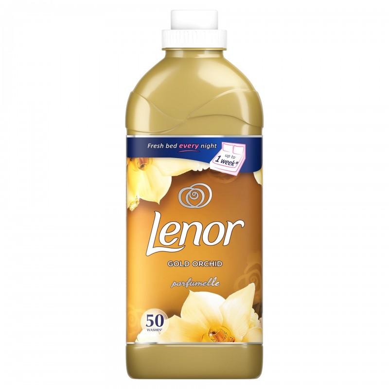 Balsam de rufe Lenor Gold Orchid, 1.5 l, 50 spalari 2021 shopu.ro