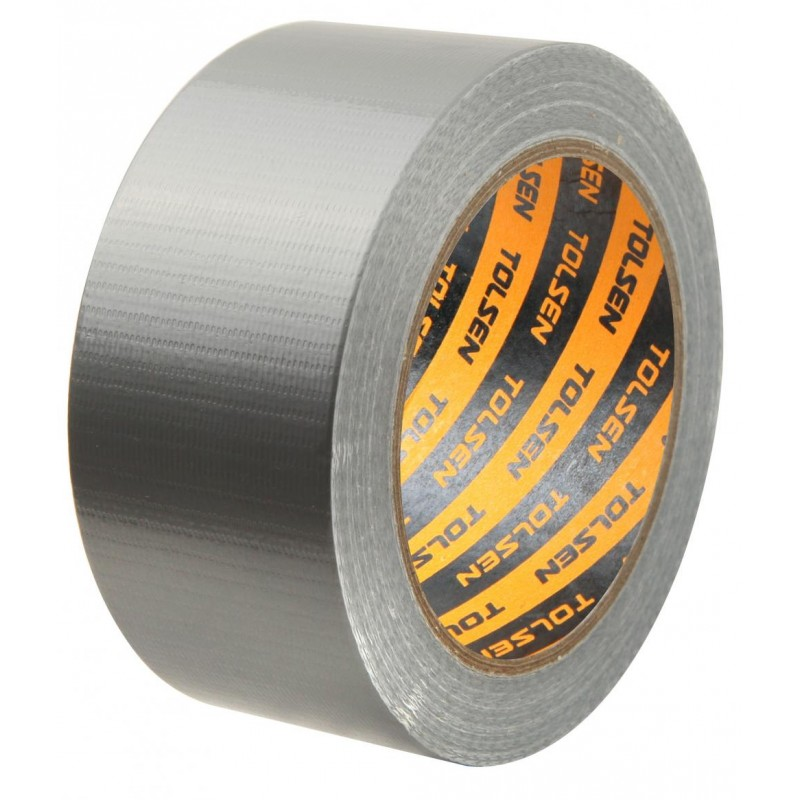 Banda adeziva din panza pentru conducte Tolsen, 3 m, diametru 48 mm x 50 mm shopu.ro