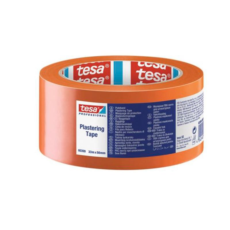 Banda adeziva mascare protectoare Tesa, 33 m x 55 mm, PVC 2021 shopu.ro