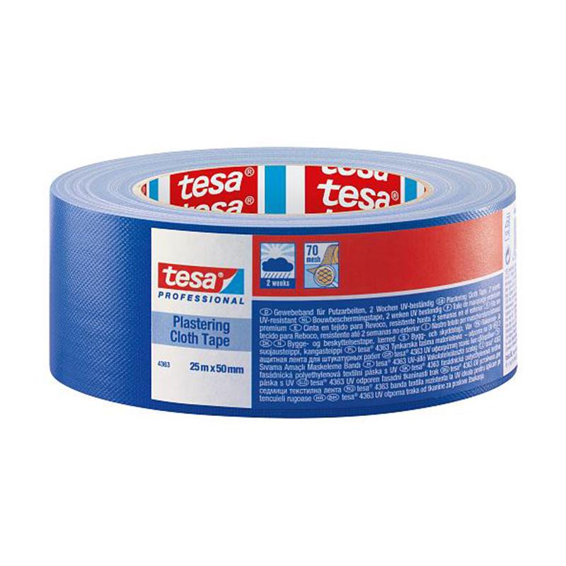 Banda adeziva mascare protectoare Tesa, 25 m x 50 mm 2021 shopu.ro