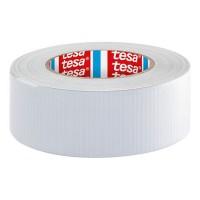 Banda adeziva Tesa, reparare extrema aluminiu, 50 mm x 50 m, Alb