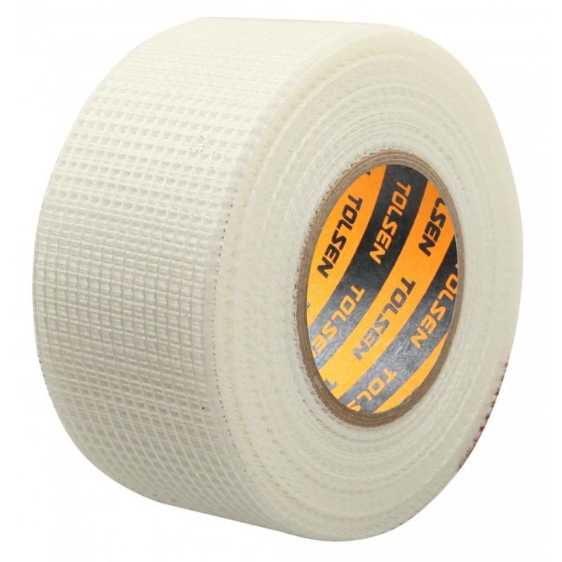 Banda adeziva Tolsen, 48 mm x 45 m, fibra de sticla 2021 shopu.ro