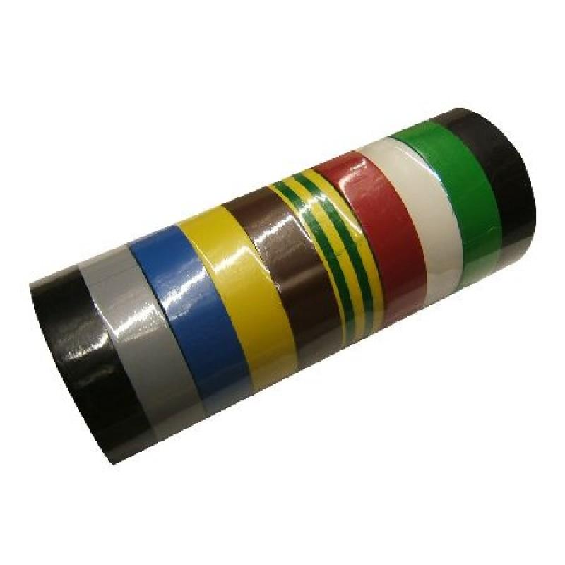 Banda izolatoare Polonia, 15 x 0.15 mm, 10 m, PVC, Multicolor