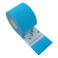 Banda Kinesio, 5 cm x 5 m, bumbac, Albastru