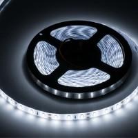 Banda LED 300 diode IP65, 5 m, 5 A, 12 V, culoare alb rece, waterproof