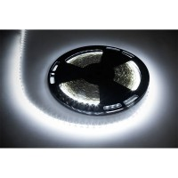 Banda LED 5050, lungime 25 m, 60 x LED, IP20, lumina alb rece, clasa A+