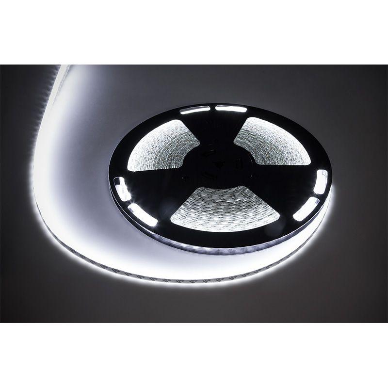Banda LED 5050, lungime 25 m, 60 x LED, IP65, lumina alb rece 2021 shopu.ro