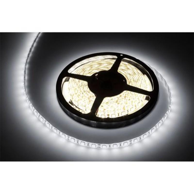 Banda LED 300 diode SMD tip 5050, 5 m, 1.2 A, 12 V, culoare alb rece 2021 shopu.ro