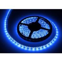 Banda LED 300 diode IP65, 5 m, 1.2 A, 12 V, culoare albastru, waterproof