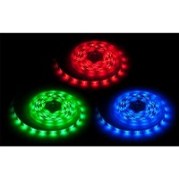 Banda LED RGB 150 diode IP65, 5 m, 2.6 A, 12 V, 3300 lm