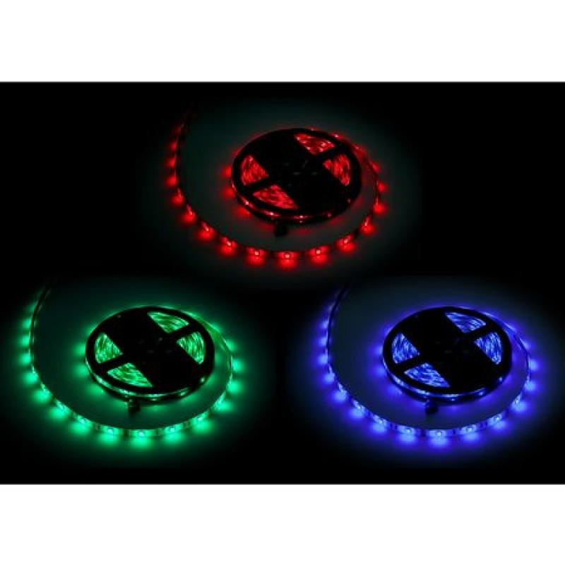 Banda LED RGB 1500 diode IP65, 5 m, 7.2 W, 12 V, 1500 lm shopu.ro