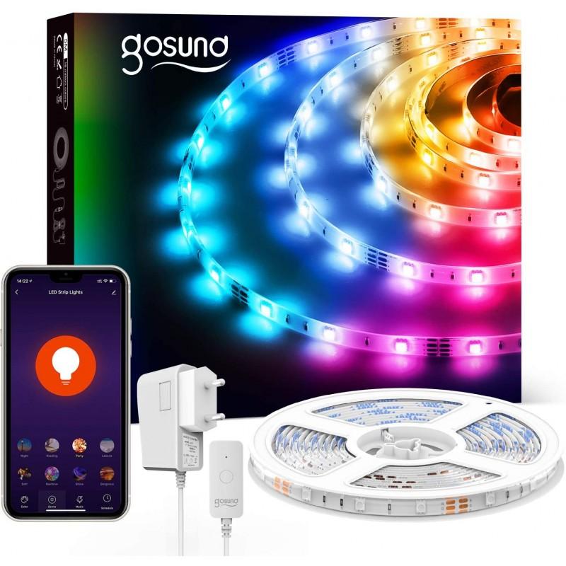 Banda LED Smart NiteBird SL3 Wi-Fi, 16 W, 10 m, programare automatizata shopu.ro