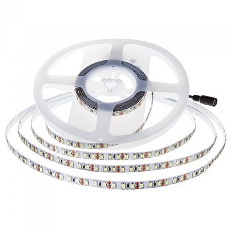Banda LED, 120 led-uri smd/m, 6400 K, alb rece, lungime 5 m, cip samsung shopu.ro