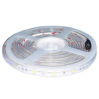 Banda Party cu 30 LED-uri SMD5050, rola 5 m, alb cald