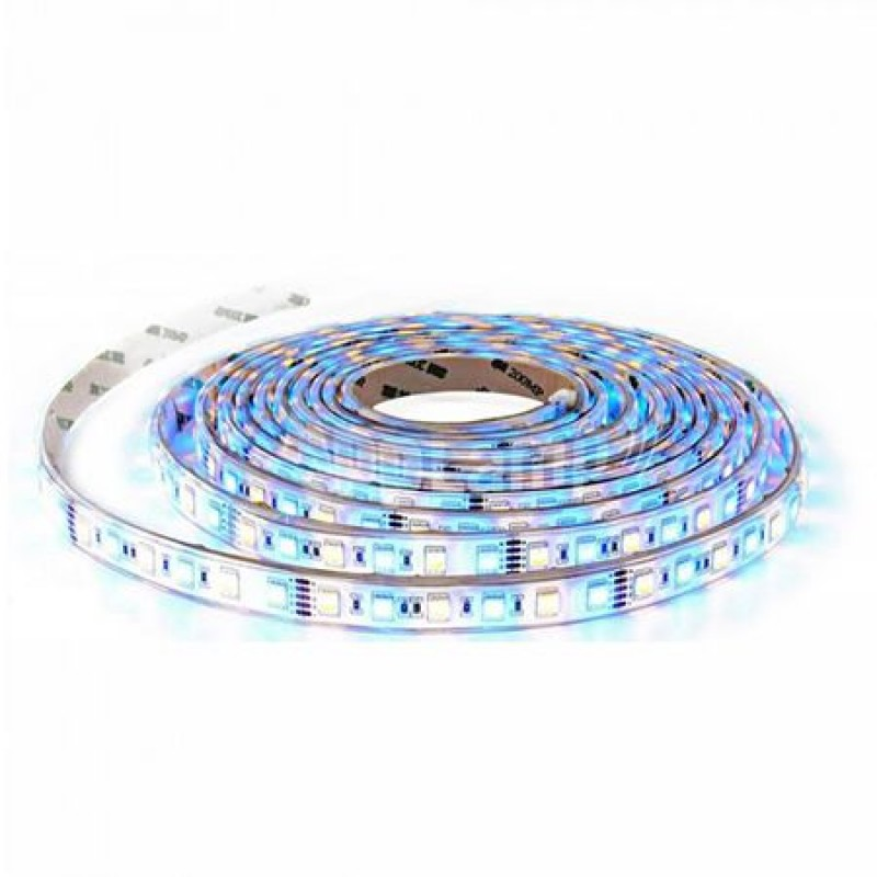 Banda flexibila SMD5050, 60 x LED/m, 50 m, 1000 lm, RGB, lumina alb cald shopu.ro