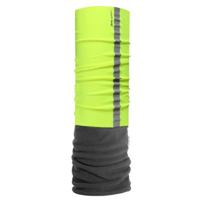Bandana reflectorizanta microfibra, 75 x 25 cm, Verde shopu.ro