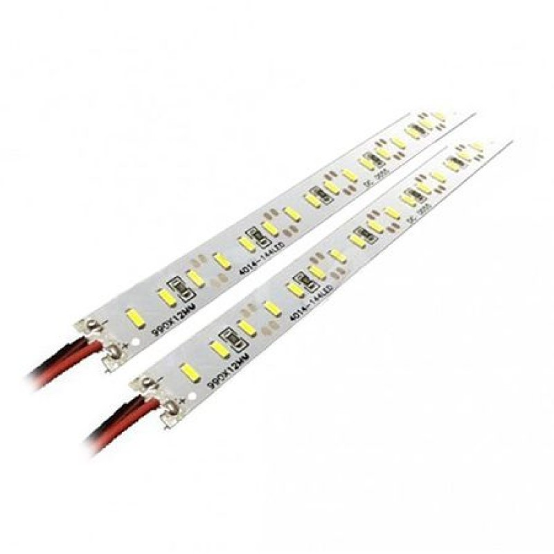 Set 2 benzi LED, lungime 1 m, putere 18 W, 12 V, 6400 K, alb rece shopu.ro