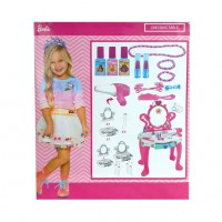 Barbie set masuta de toaleta Mega Creative, 44 x 12 x 50 cm, 3 ani+