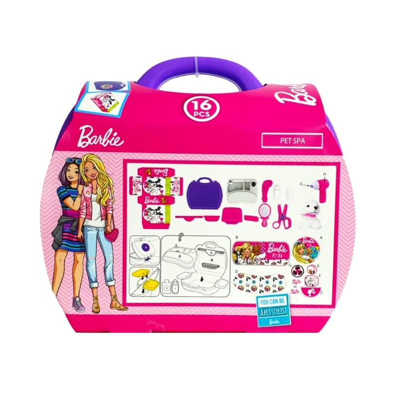 Barbie set stilist animalute Mega Creative, 24 x 11 x 22 cm, 3 ani+