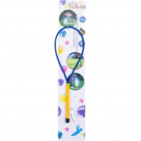 Bat cu inel pentru baloane de sapun Tuban,  35 cm,  3 ani+