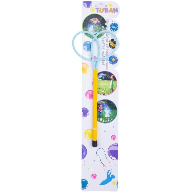 Bat cu inel pentru baloane de sapun Ring Mini Butterfly Tuban, 20 cm, 3 ani+ 2021 shopu.ro