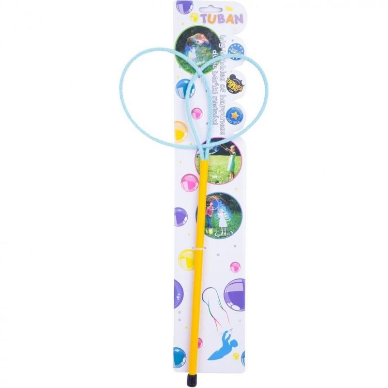 Bat cu inel pentru baloane de sapun Ring Pro Butterfly Tuban, 40 cm, 3 ani+ 2021 shopu.ro