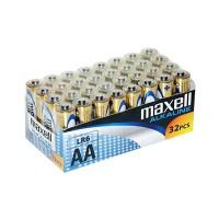 Set bateriei alcaline Maxell LR06, 32 buc/set