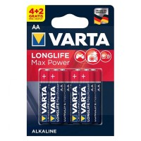 Baterie alcalina LR06 Max Power Varta, 6 bucati