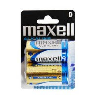 Set baterii alcaline Maxell LR20, 2 bucati