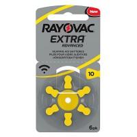 Set baterii Rayovac 10 pentru aparate auditive, 6 bucati