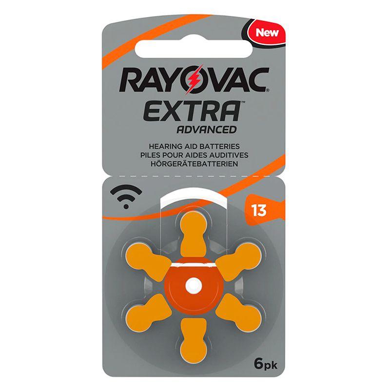 Set baterii Rayovac 13 pentru aparate auditive, 6 bucati 2021 shopu.ro