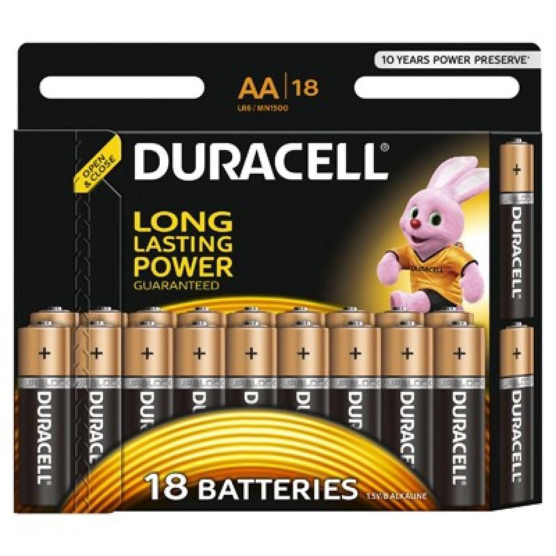 Set 18 baterii Duracell Basic, tip AA 2021 shopu.ro
