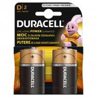 Set 2 baterii Duracell Basic, tip D
