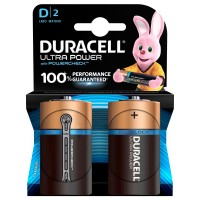 Set 2 baterii Duracell Ultra power, tip D