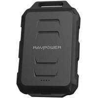 Baterie externa RavPower, 10050 mAh, 2 x USB, kanterna LED, tehnologie iSmart