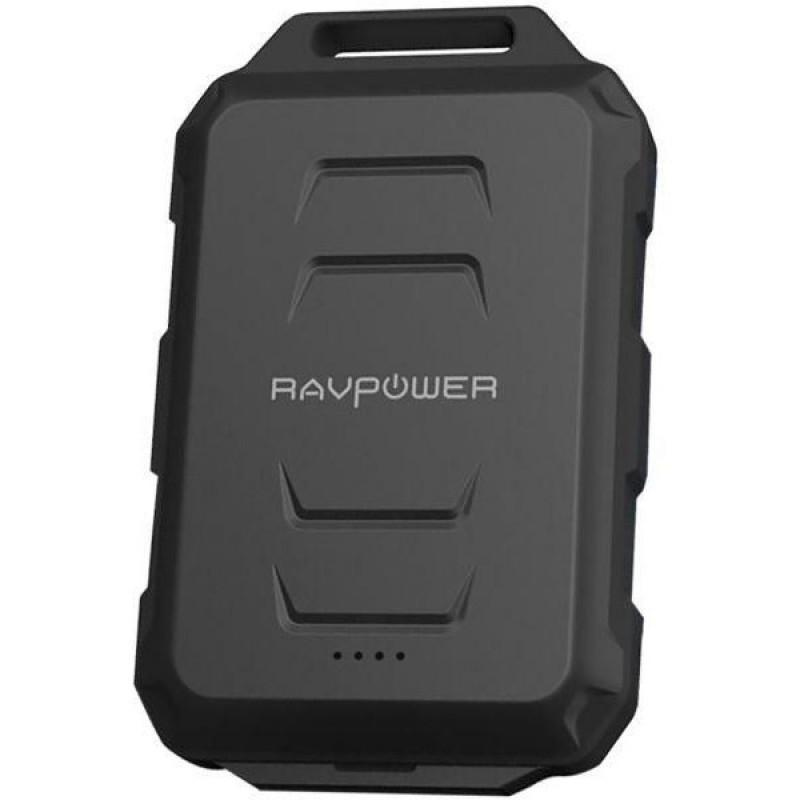 Baterie externa RavPower, 10050 mAh, 2 x USB, kanterna LED, tehnologie iSmart 2021 shopu.ro