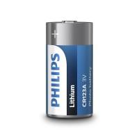 Baterie Lithium Philips, CR123, 3 V, ambalaj blister