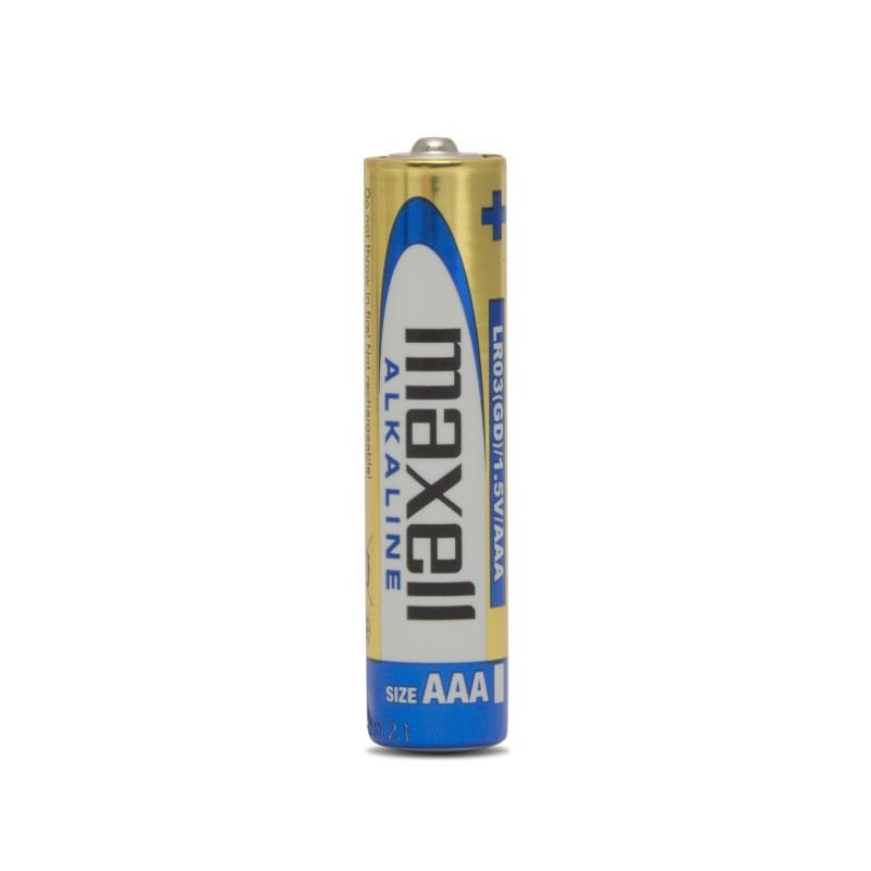 Set 24 baterii alcaline Maxell, 1.5 V, AAA, LR03 2021 shopu.ro