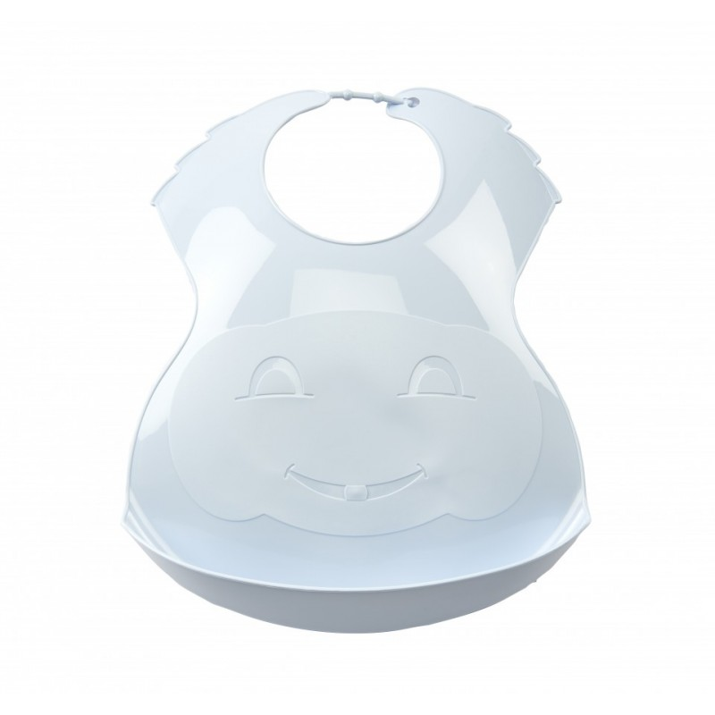 Baveta Thermobaby, plastic, 0 luni+, model baby blue 2021 shopu.ro