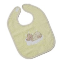 Bavetica Easy Baby Sleaping Bear, bumbac, verde