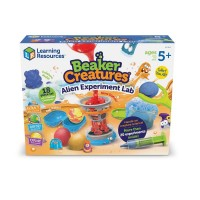 Joc educativ Laboratorul cu extraterestrii Beaker Creatures Learning Resources, 5 ani+