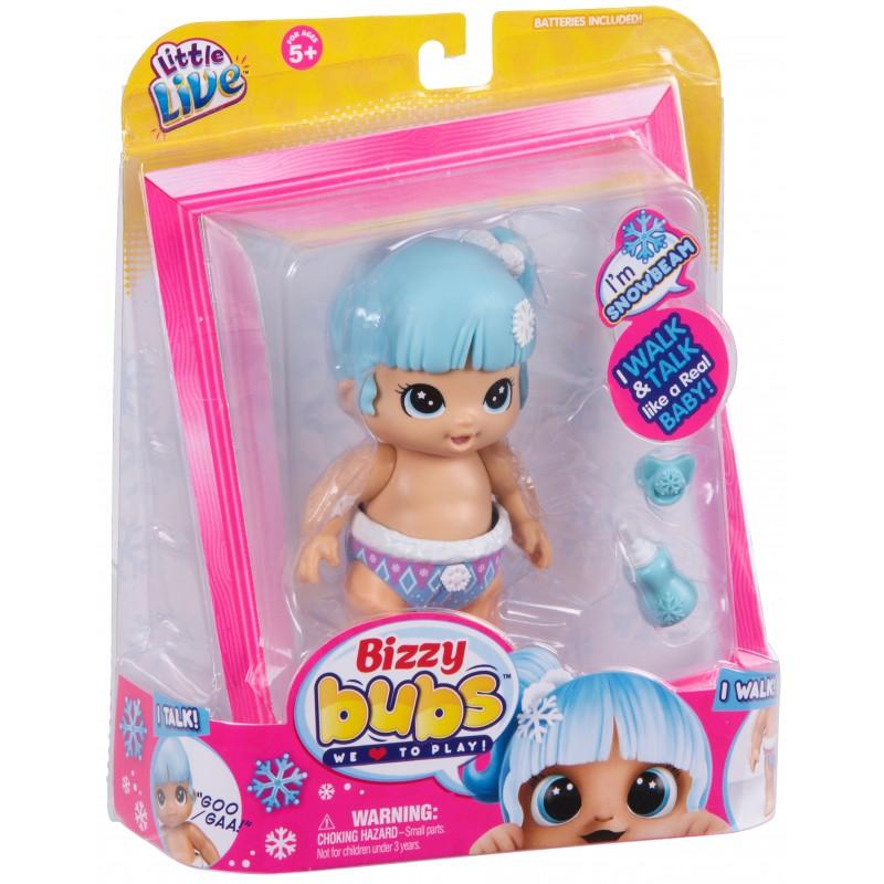 Papusa bebelus Little Live Babies Fulg de Nea, functii, 5 ani+ 2021 shopu.ro