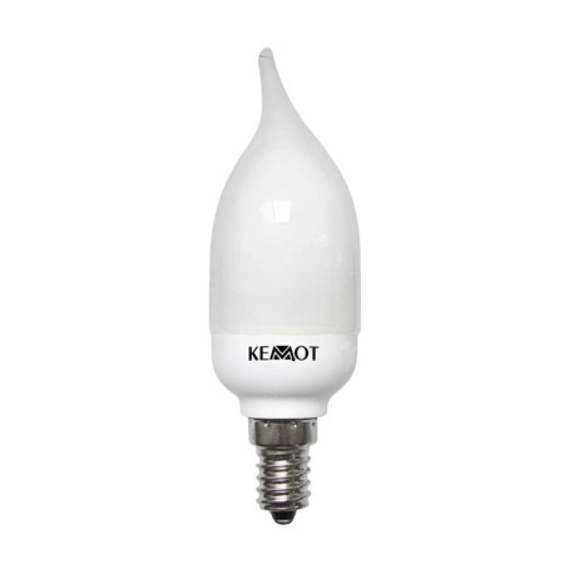 Bec economic Kemot, soclu E14, 7W, lumina calda 2021 shopu.ro