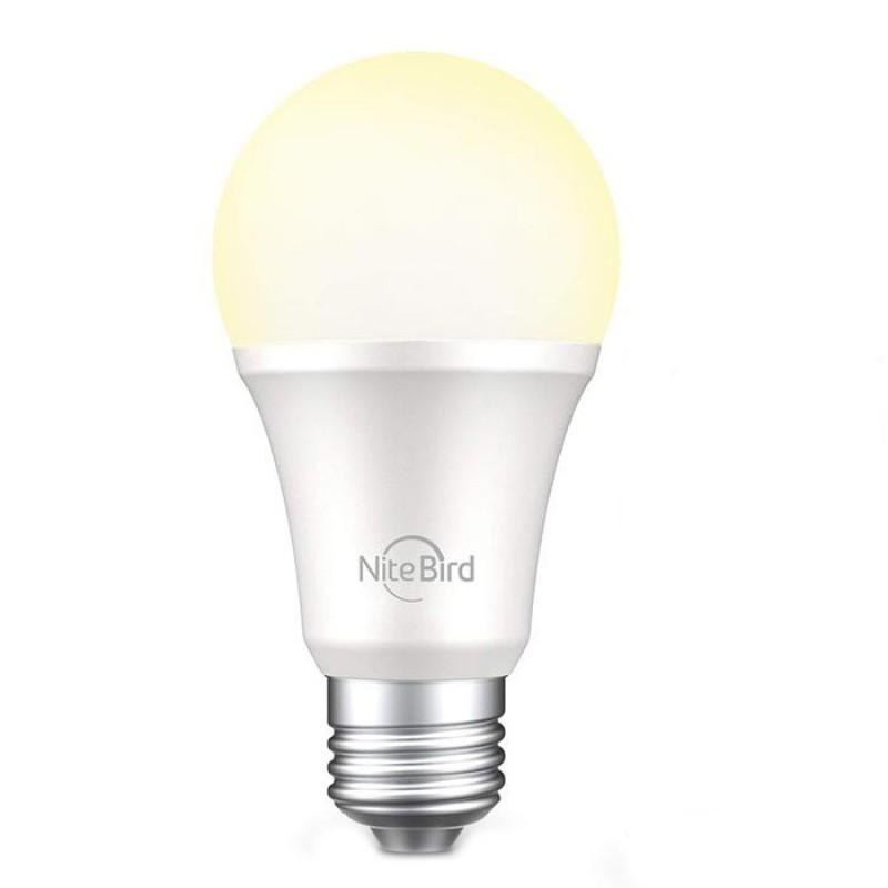 Bec inteligent LED NiteBird WB4, 8 W, 800 lm, 2700 K, soclu E27 2021 shopu.ro