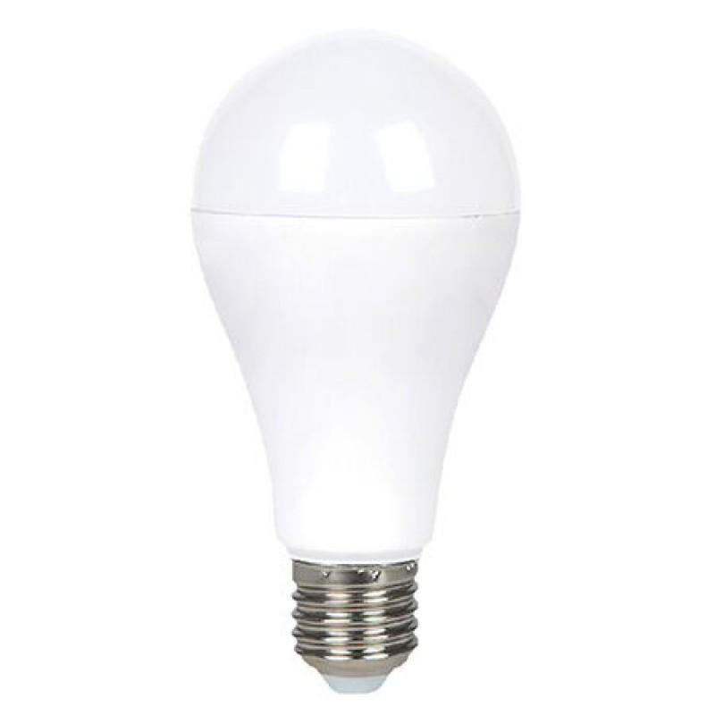 Bec LED RGB, soclu E27, 750 lm, 6 W, 6400 K, alb rece