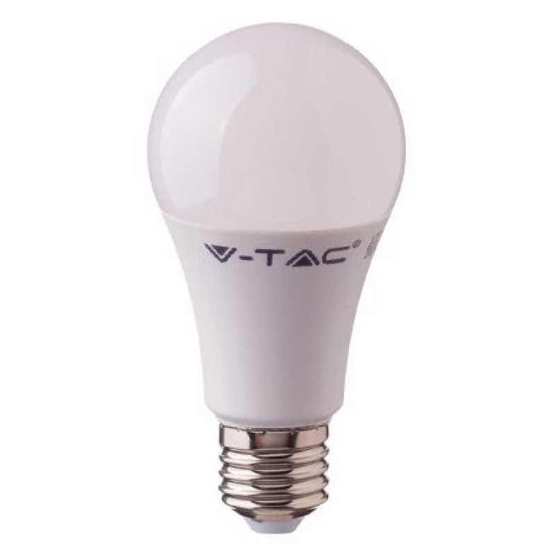 Bec economic cu LED, 9 W, 806 lm, 3000 K, soclu E27, lumina alb cald, cip Samsung, forma A58 shopu.ro
