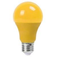 Bec LED, soclu E27, 9 W, 270 lm, galben