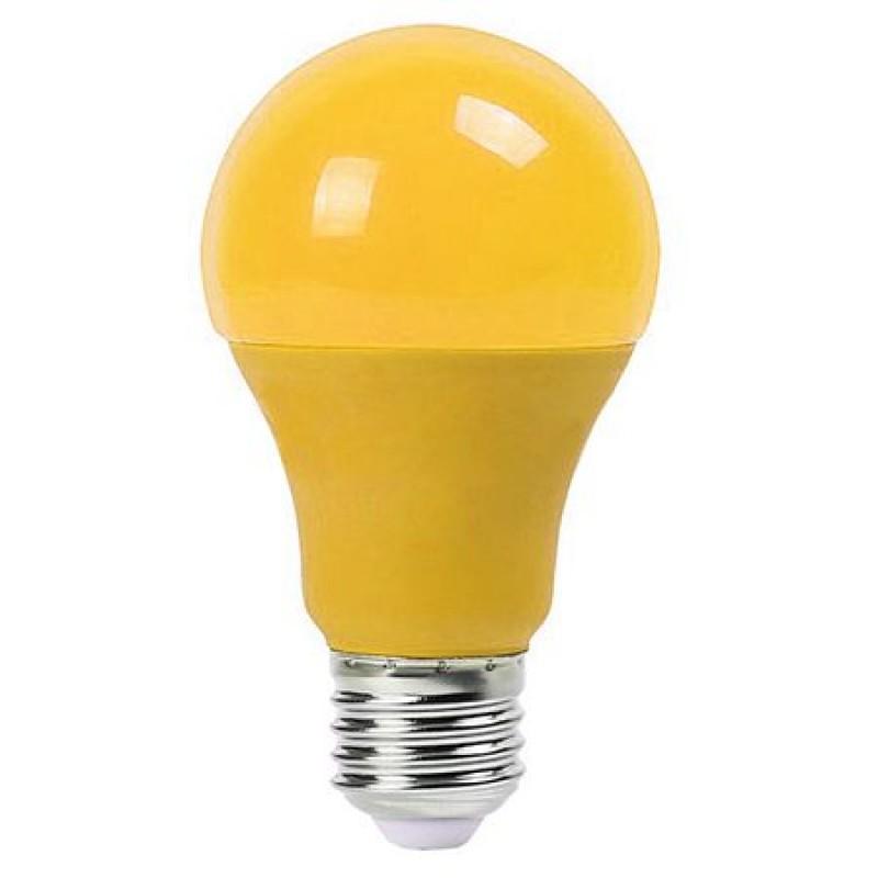 Bec LED, soclu E27, 9 W, 270 lm, galben 2021 shopu.ro