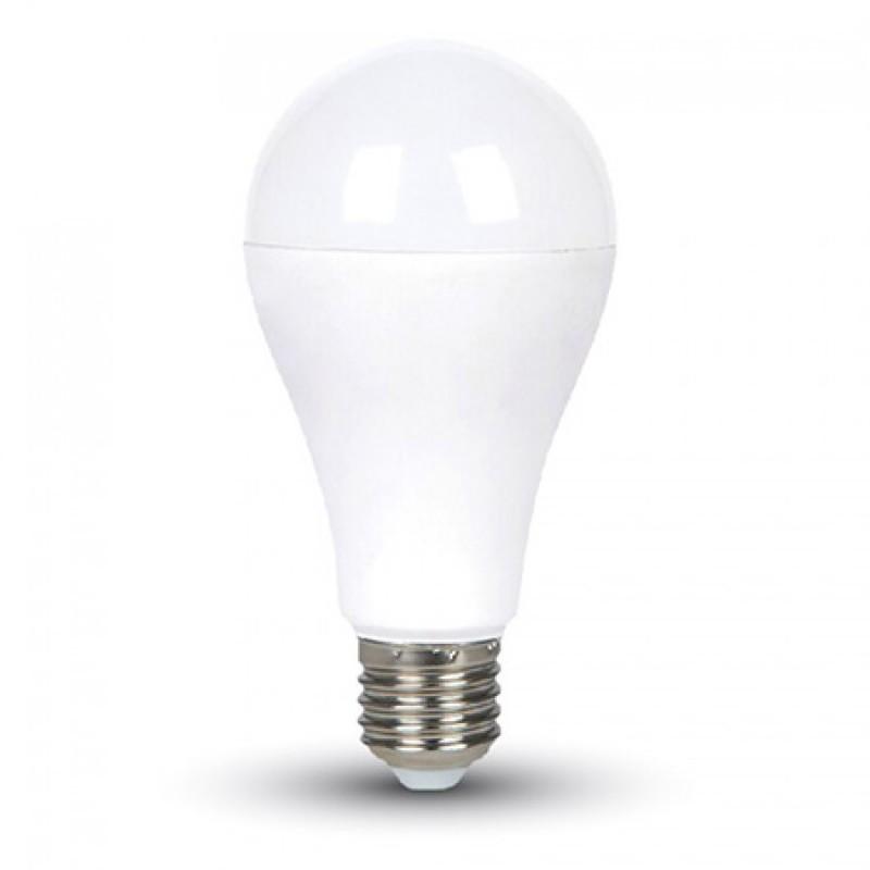Bec cu LED, 15 W, 1500 lm, 3000 K, soclu E27, lumina alb cald, forma A65 2021 shopu.ro