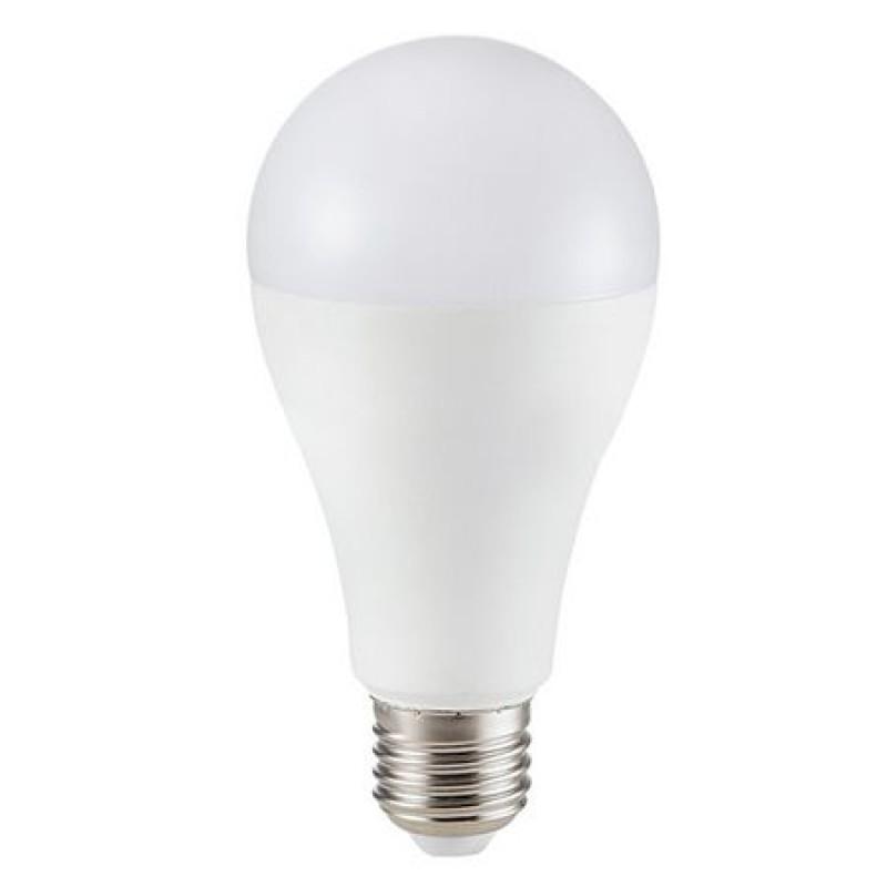 Bec economic cu LED, 15 W, 1250 lm, 4000 K, soclu E27, lumina alb neutru, cip Samsung, forma A65 shopu.ro